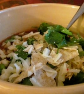 Slow Cooker Chicken Taco Soup from The Food Charlatan