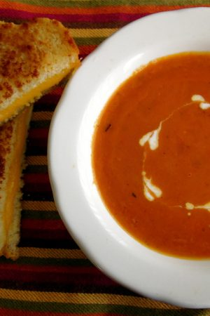 Fire Roasted Tomato Soup from TheFoodCharlatan.com
