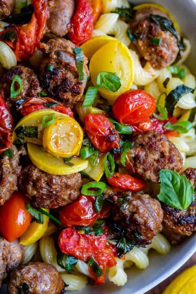 how to make italian sausage pasta