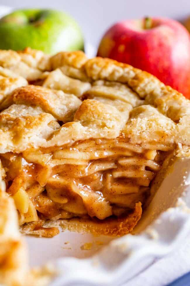 how to make apple pie really tall