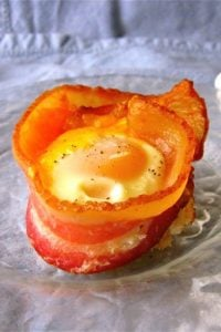 Bacon and Egg Toast Cups from TheFoodCharlatan.com