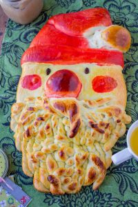 Golden Santa Bread from The Food Charlatan