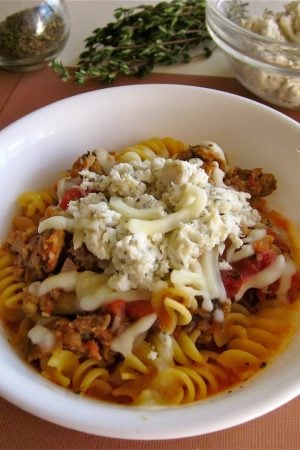 Lasagna Soup from TheFoodCharlatan.com