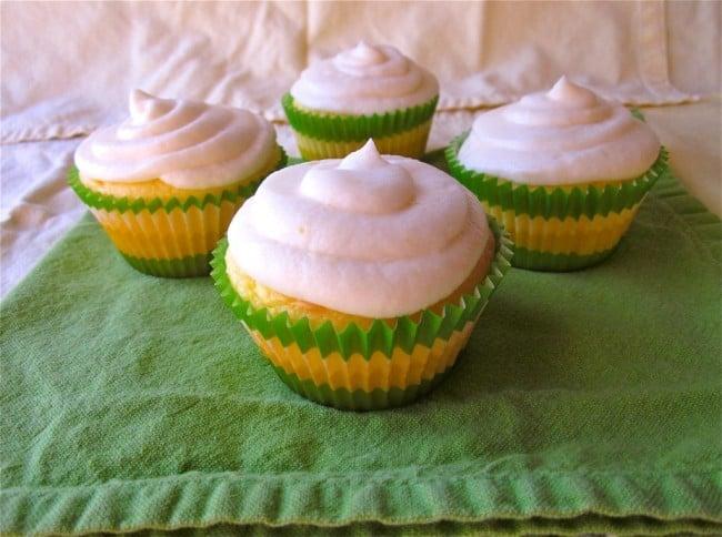Lemon Cupcakes from TheFoodCharlatan.com