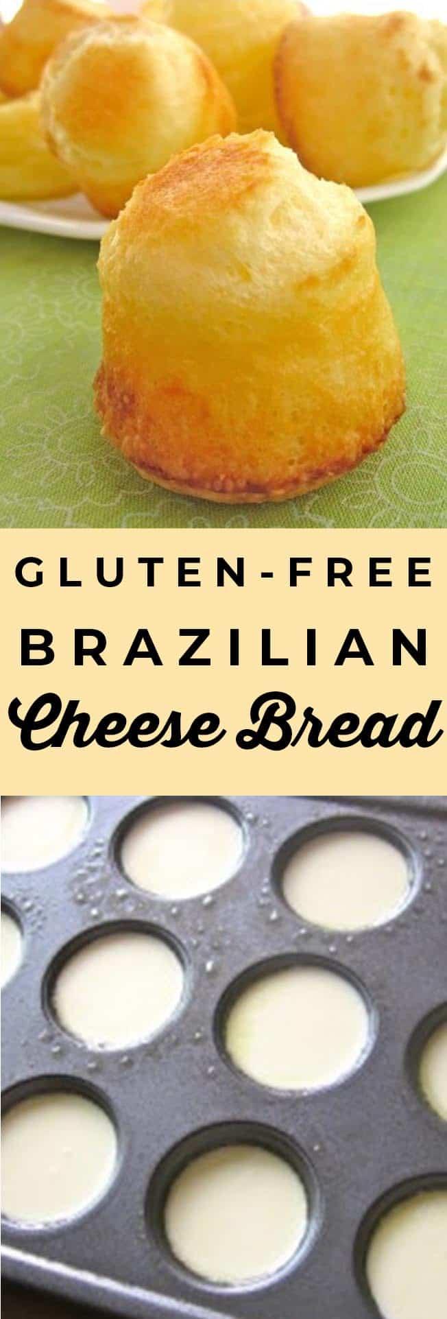 brazilian cheese bread pao de queijo
