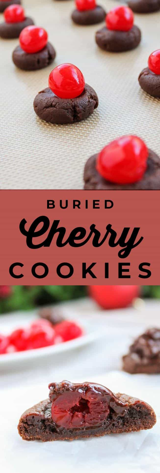 buried cherry cookies