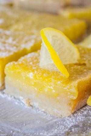 The Best Lemon Bars from The Food Charlatan