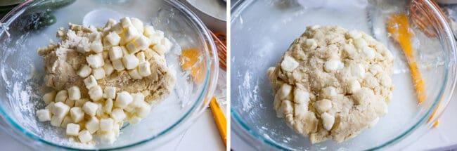 simple scone recipe with cream cheese
