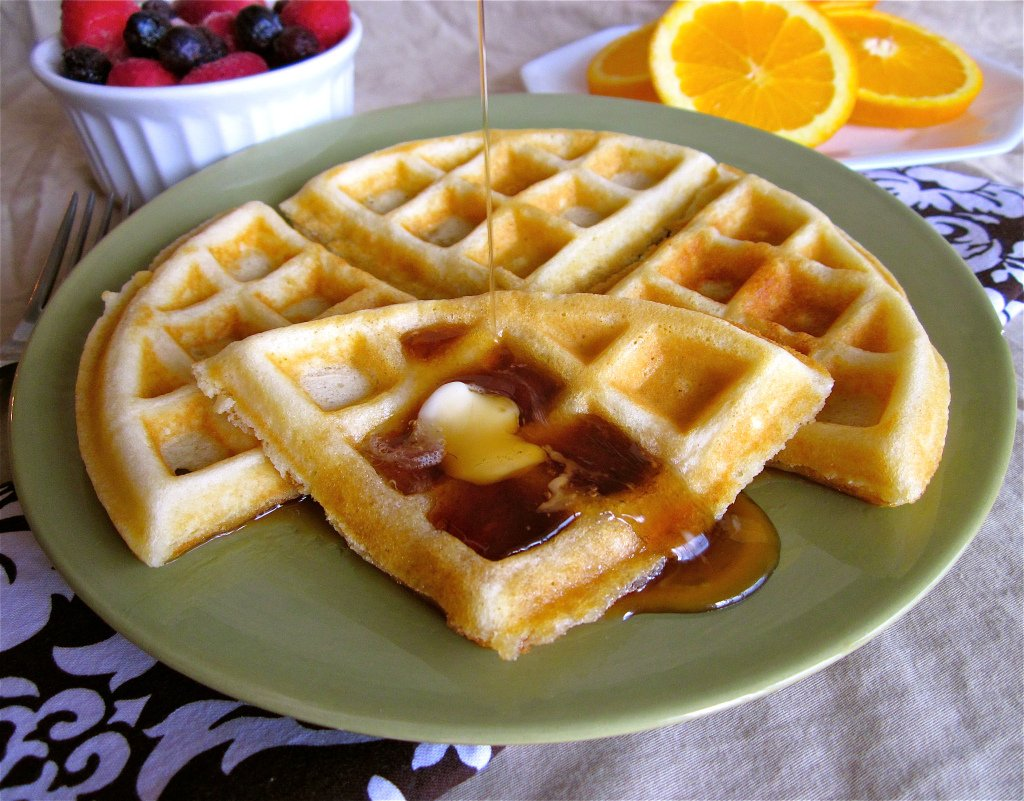 Waffles from The Food Charlatan