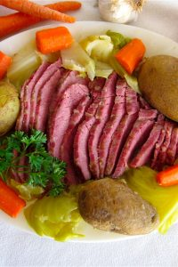 Corned Beef and Cabbage with Horseradish Sauce from TheFoodCharlatan.com