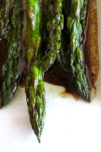 Balsamic-Browned Butter Asparagus from TheFoodCharlatan.com