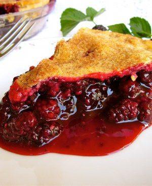Blackberry Pie from TheFoodCharlatan.com