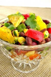 Mexican Bean Salad from TheFoodCharlatan.com