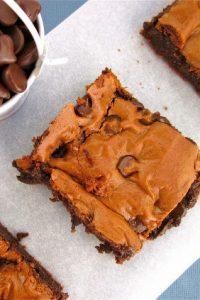 Dark Chocolate Brownies {Gluten Free!} from TheFoodCharlatan.com