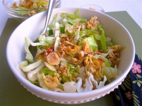 Asian Cabbage Salad from TheFoodCharlatan.com
