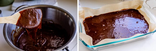 how to make mint brownies