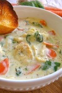 Chicken Gnocchi Soup from TheFoodCharlatan.com