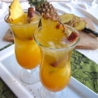 Chilled Pineapple Apple Cider
