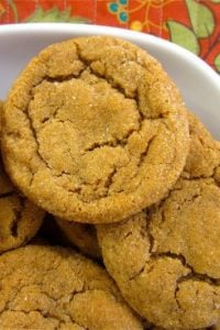 Soft Ginger Cookies from The Food Charlatan