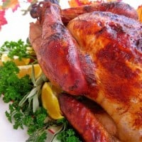 Thanksgiving Recipes and an Apple-Cider Brined Turkey with Savory Herb Gravy