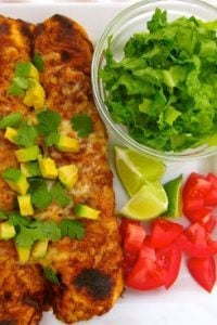 Turkey Enchiladas from The Food Charlatan