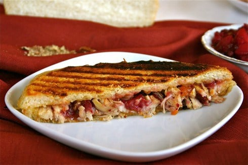 Turkey and Swiss Panini from The Food Charlatan