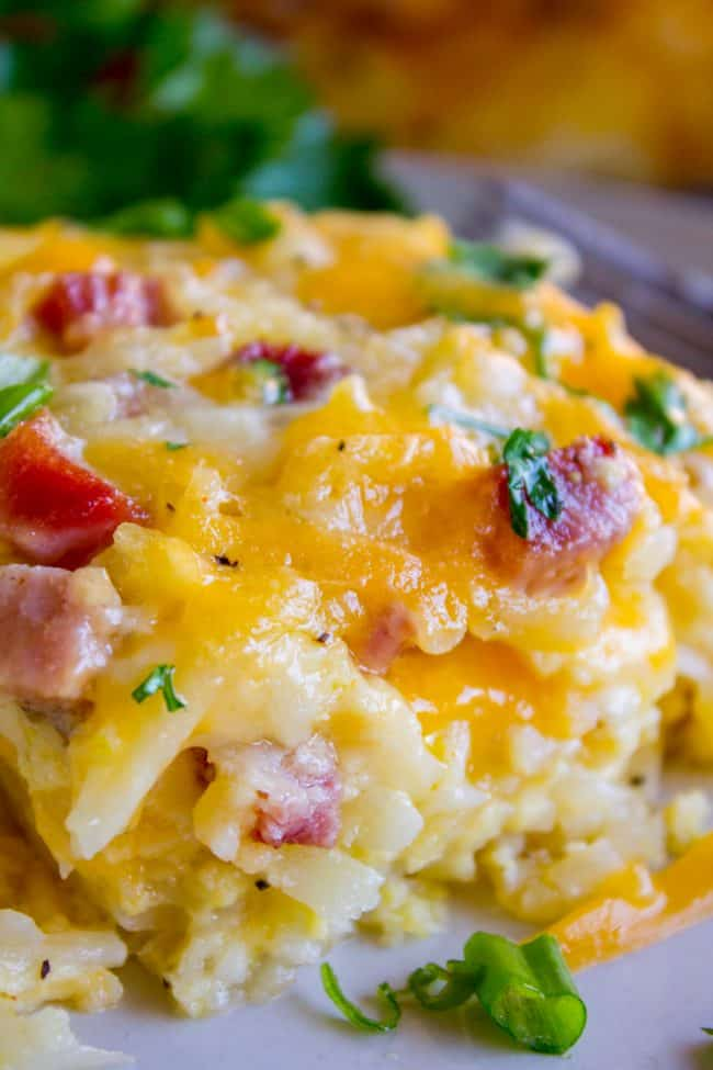 Cheesy Overnight Breakfast Casserole