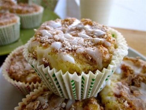 Coffeecake Muffins from TheFoodCharlatan.com