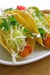Easy Fishstick Tacos from TheFoodCharlatan.com