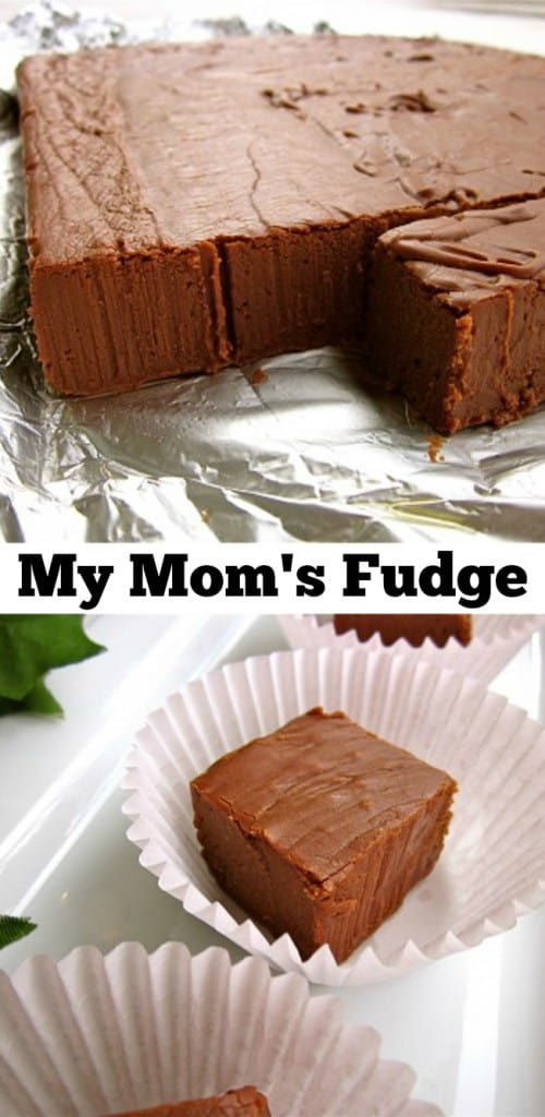 My Mom's Fudge from The Food Charlatan
