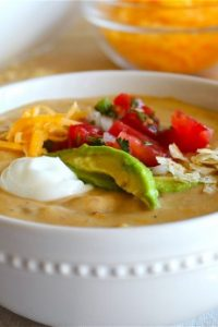 Chicken Enchilada Soup from TheFoodCharlatan.com