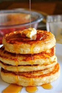 Good Old Fashioned Pancakes from TheFoodCharlatan.com