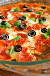 Hot Pizza Dip from TheFoodCharlatan.com