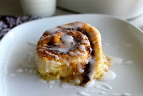One Hour Cinnamon Rolls from TheFoodCharlatan.com