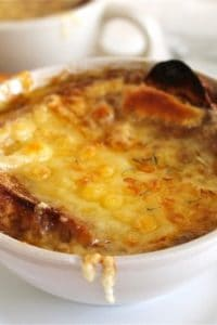 French Onion Soup from TheFoodCharlatan.com