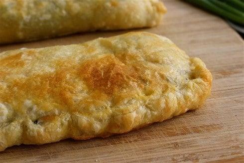 Greek Spinach Feta Chicken Pockets - The Food Charlatan