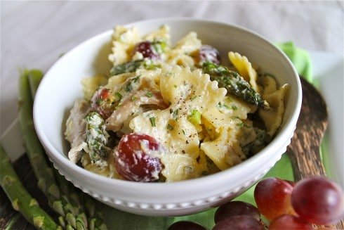 Lemon Tarragon Pasta Salad