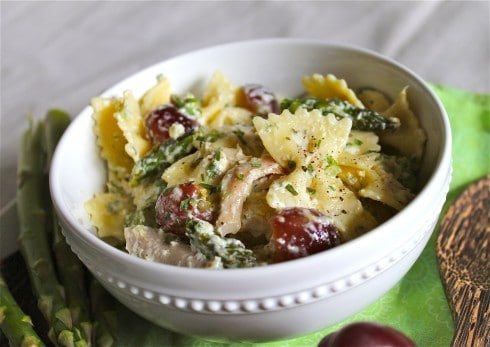 Lemon Tarragon Pasta Salad from TheFoodCharlatan.com