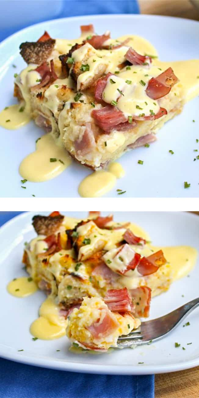 Eggs Benedict Casserole from The Food Charlatan