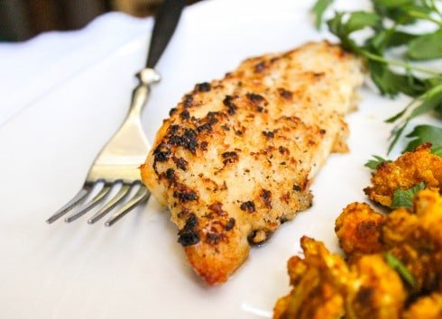 Easy Parmesan Tilapia from TheFoodCharlatan.com