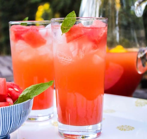 Boozy Watermelon Rosemary Lemonade Recipes — Dishmaps