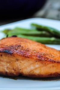 Caramelized Salmon from TheFoodCharlatan.com