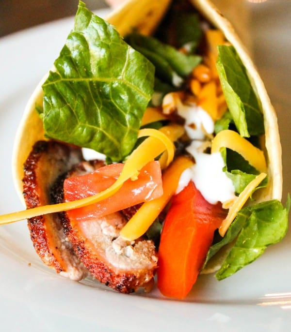 Barbeque Pork Tenderloin Wraps