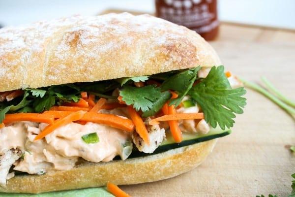 Leftover Turkey Asian Sandwich (Turkey Banh Mi)