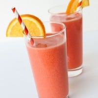 June Bug: Orange Grenadine Ginger Ale