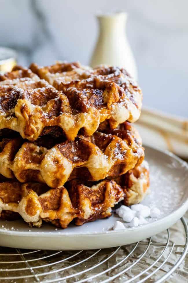 liege waffle recipe