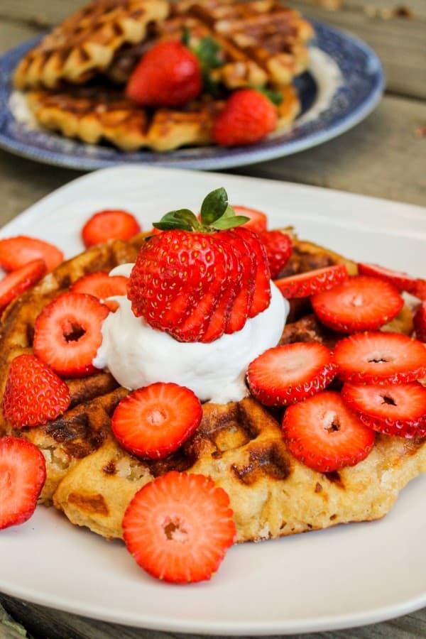 Liege Waffles with Pearl Sugar - The Food Charlatan