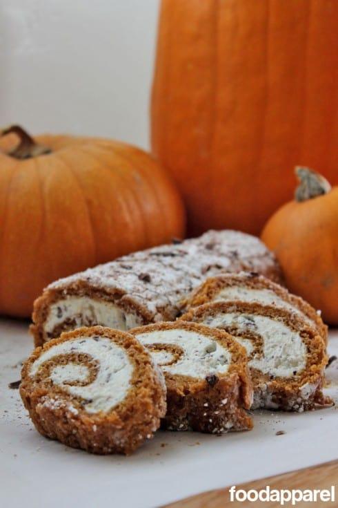 Pumpkin Roll-up