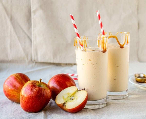 Caramel Apple Cider Reduction Shake