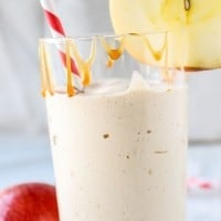 Caramel Apple-Cider Reduction Shakes